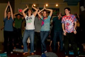 Ekayani and the Tom Glide Space @ Jiva Mukti Yoga School