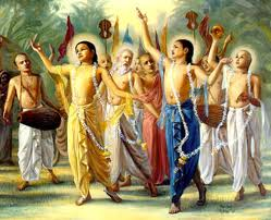 The process is to sing and dance to  the Maha (Great) mantra. That's easy!